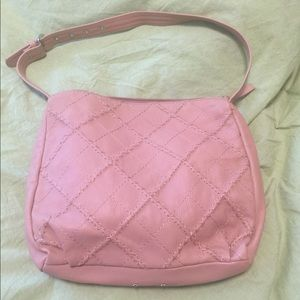 Stone Mountain pink leather bag